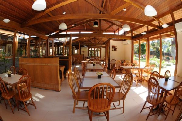 Restaurante do Village Le Canton